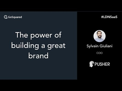The power of building a great brand – Pusher