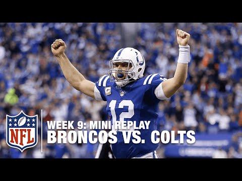 Broncos vs. Colts (Week 9) | Andrew Luck vs. Peyton Manning Mini Replay | NFL