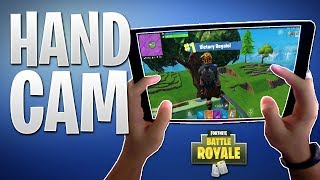 FORTNITE MOBILE IPAD PRO HAND CAM! Sehen, Wie Ich Build & Fight-Spieler