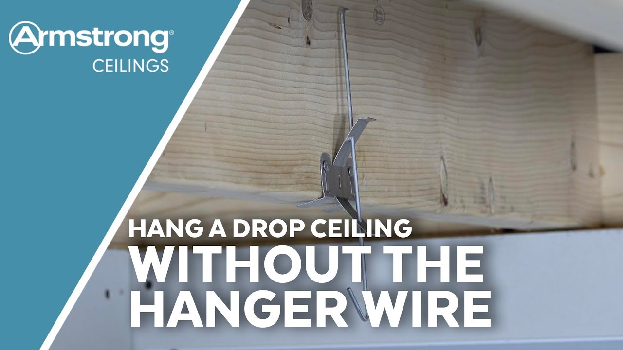 Hang A Drop Ceiling Without Hanger Wire