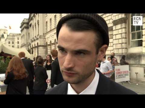 On The Road Tom Sturridge Interview UK Premiere