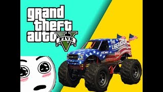Monster Truck Rumble Mayhem! - Our Hilarious Moments (Gta v online)