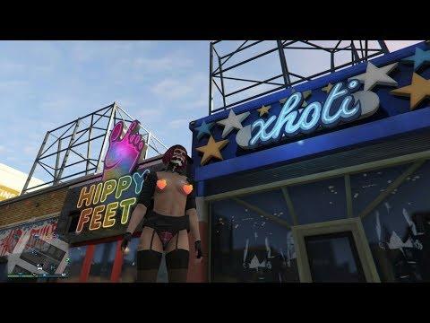 GTA Online - Глитч на голую грудь женскому персонажу