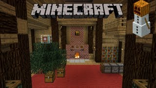 Le passage secret de Noël - Minecraft tutoriel