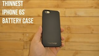 The Thinnest iPhone 6s / 6 Double Battery Case | ThinCharge  - iGyaan