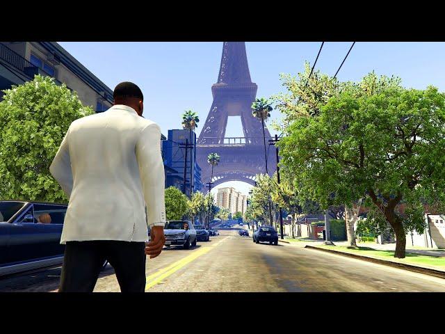 لعب النسخة الفرنسية من لعبة جي تي أي 5 | GTA V French Version