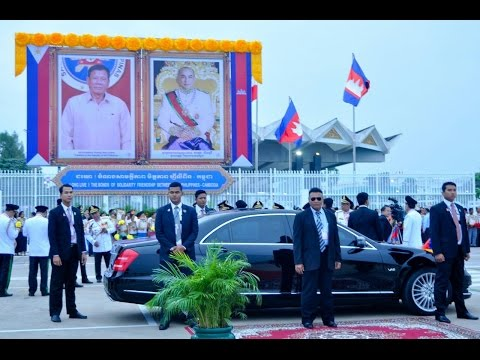 The State Visit of H E  Mr  RODRIGO ROA DUTERTE, President of the Repubic of the Philippines to the