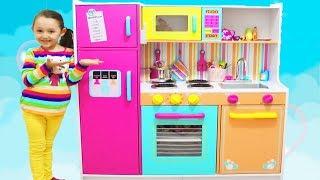 ÖYKÜNÜN DEVASA MUTFAĞI Kidkraft Kids Toy Kitchen - playtime