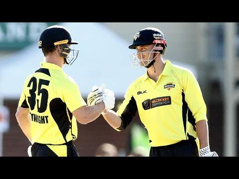 Highlights: Victoria V Western Australia, JLT One-Day Cup