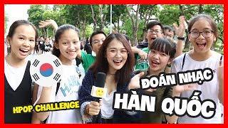 Đoán các bài hát Hàn Quốc tại phố đi bộ | Nhổn TV