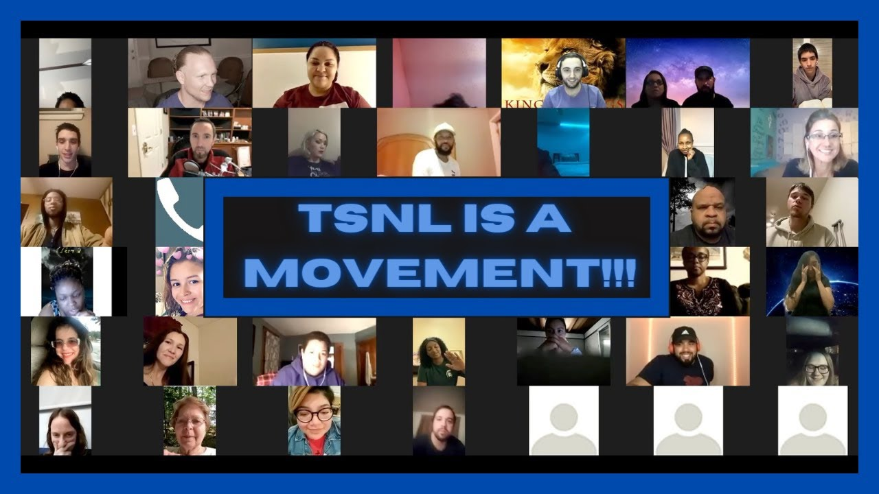 People from all over the world were filled with the Holy Spirit on a ZOOM CALL!!!