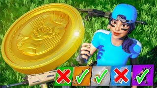 I flipped a COIN to decide my loot in Fortnite...