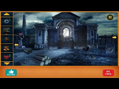 Scary Cemetery Escape 2 Walkthrough Feg Youtube