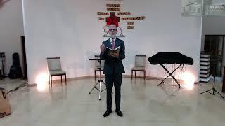 Santa ceia, a páscoa cristã l Mt 26. 17-30 l Pr. Nilson Melo l 04/04/2021