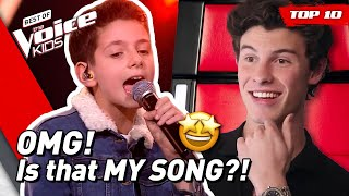 TOP 10 | Awesome SHAWN MENDES songs covered in The Voice Kids! 🤩 YouTube Videos