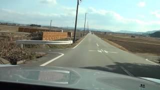 S2000で三重県松阪市ベルファーム周辺