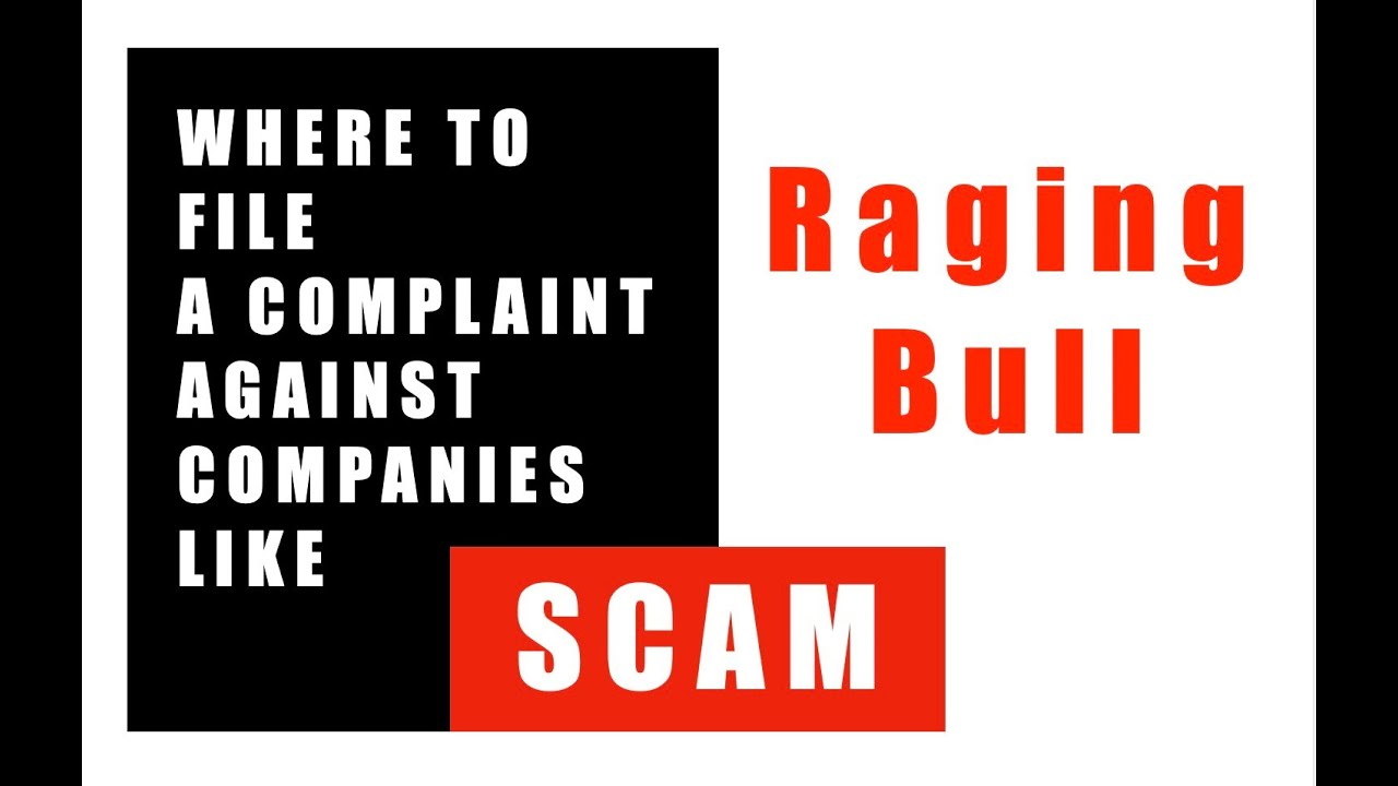 Raging Bull Scam