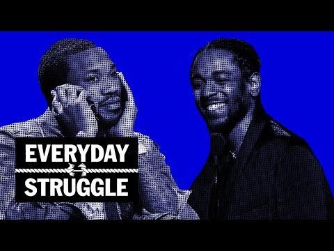 Should Meek & Drake Collab? White Kendrick Fan Drops N-Word, Spotify Rules | Everyday Struggle