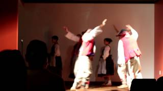 A dance by Łowiczanie Polish Folk Ensemble at Troika Release August 2012