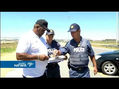 E Cape law enforcement on a human trafficking awareness campaign