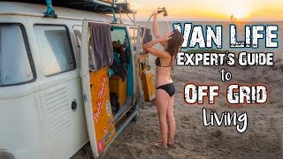 Van Life: An Expert's Guide to Living in a Vehicle