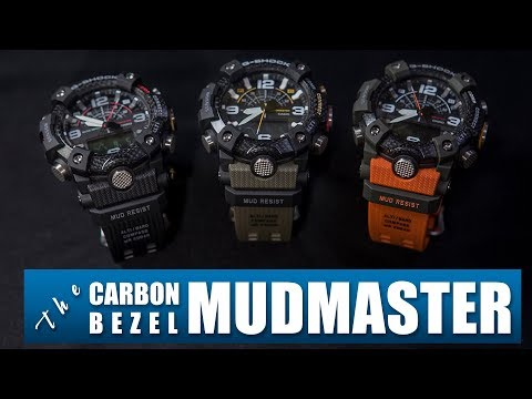 THE NEW MUDMASTER WITH CARBON BEZEL | CASIO G-SHOCK GG-B100 REVIEW
