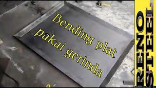 Частина 2 tekuk/вигинальні плат Лас-інструкція dengan gerinda