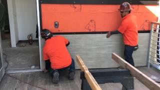 WPS ES 500 Exterior panel installation