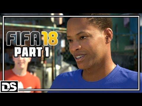 FIFA 18 The Journey Hunter Returns Gameplay Deutsch #1 - Fifa Street Style - Let's Play FIFA 18