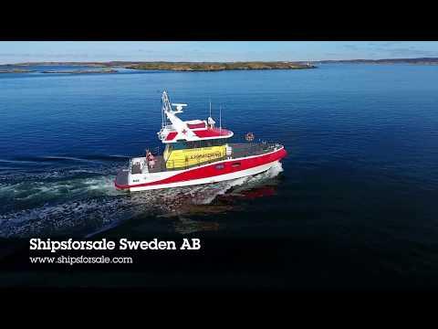 Shipsforsale Sweden Fast Rescue vessel Sparbanken Tanum for sale