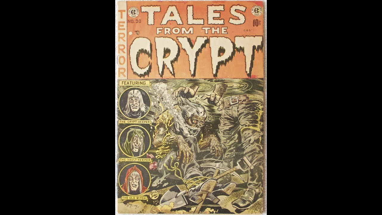 Inside Golden Age Tales From The Crypt 30