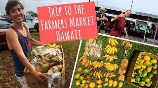 Hawai Farmers Market Vlog ~ Kanekiki Farm