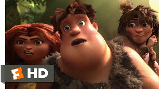 The Croods (2013) - Grug's Inventions Scene (7/10) | Movieclips