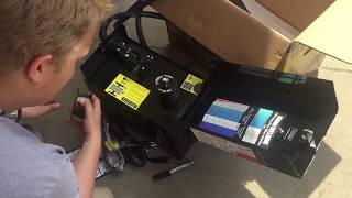Harbor Freight 125 Amp welder - unboxing review