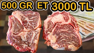 1 Pound of Meat 500 $ (Wagyu A3 price in Turkey)
