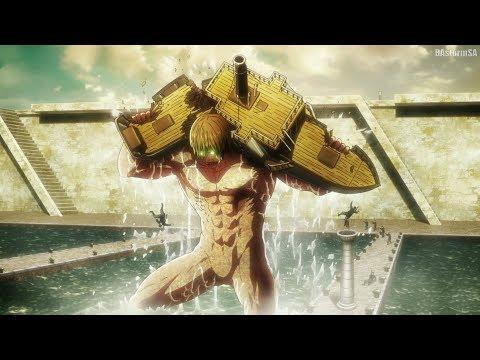 Эрен Крюгер превращается в Титана / Eren Kruger Titan Transformation [Attack on Titan 3 Part 2]