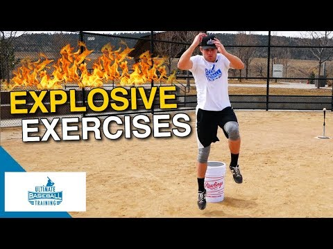 3 EXPLOSIVE Exercises ALL Baseball Players Should Do