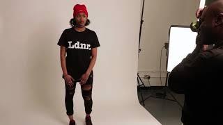 LDNR PHOTOSHOOT - BTS