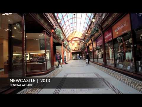 Newcastle city tour 2013 HD