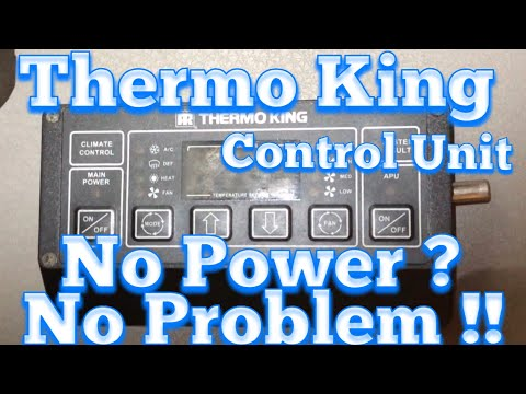 Thermo King APU Control Box - No Power - YouTube