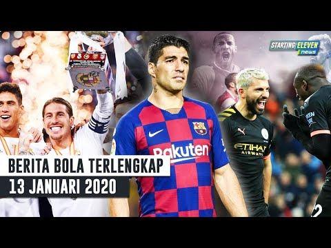 Madrid JUARA Super Spanyol 😱 CETAK HATTRICK! Aguero Patahkan Rekor Henry 😱 Suarez OUT Empat Bulan