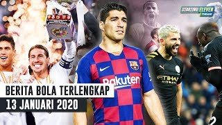 Gambar cover Madrid JUARA Super Spanyol 😱 CETAK HATTRICK! Aguero Patahkan Rekor Henry 😱 Suarez OUT Empat Bulan