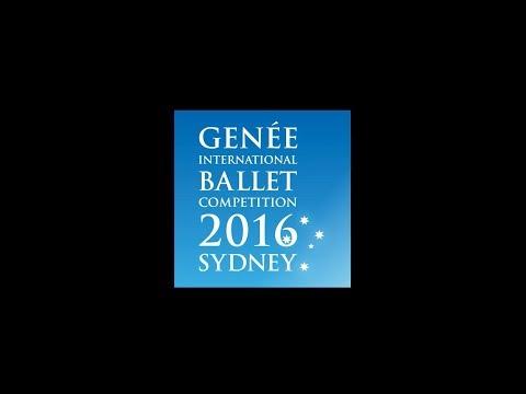 Genée International Ballet Competition - Sydney 2016