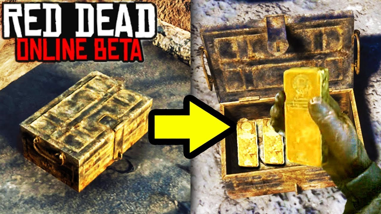 Secret Gold Treasure And Money Location In Red Dead Redemption 2 Online Easy Rdr2