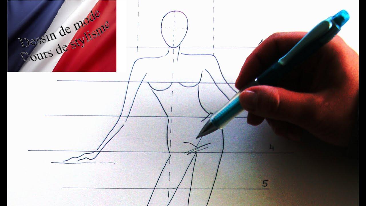 apprendre faire un dessin de mode dessin de styliste le on 1 youtube. Black Bedroom Furniture Sets. Home Design Ideas