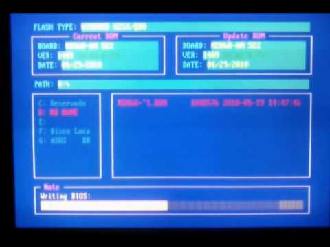 Atualizando bios M2N68-AM SE2 ASUS