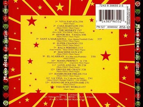 CASA BABYLON+CD BONUS INEDITS Full album-Album completo-Mano negra-1994