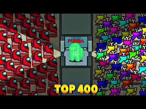 TOP 400 FUNNIEST PLAYS IN AMONG US