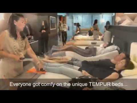 """Sleep Better Together"" with The Finder Singapore and TEMPUR"