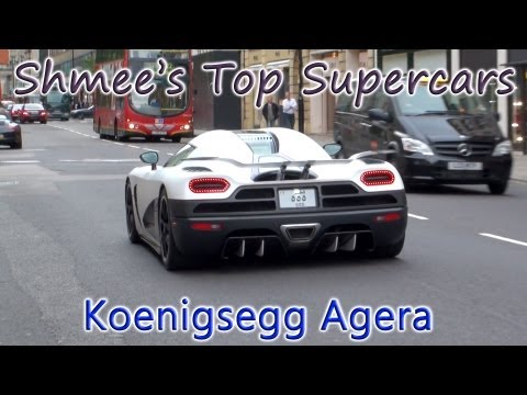 Shmee's Top Supercars Episode 2: Koenigsegg Agera